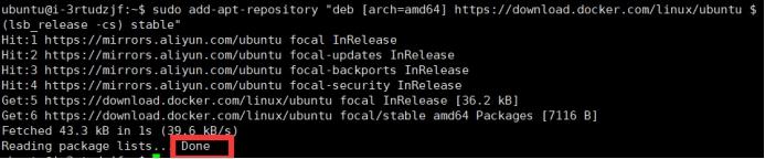 至此 Docker软件源被正式启用